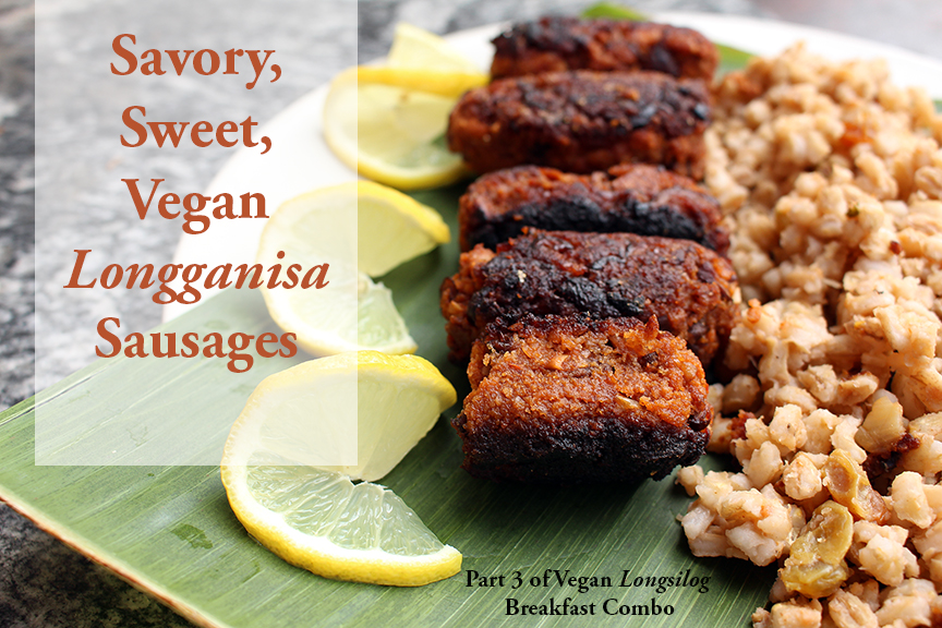 Vegan Longganisa Sausages Plus Free Guide