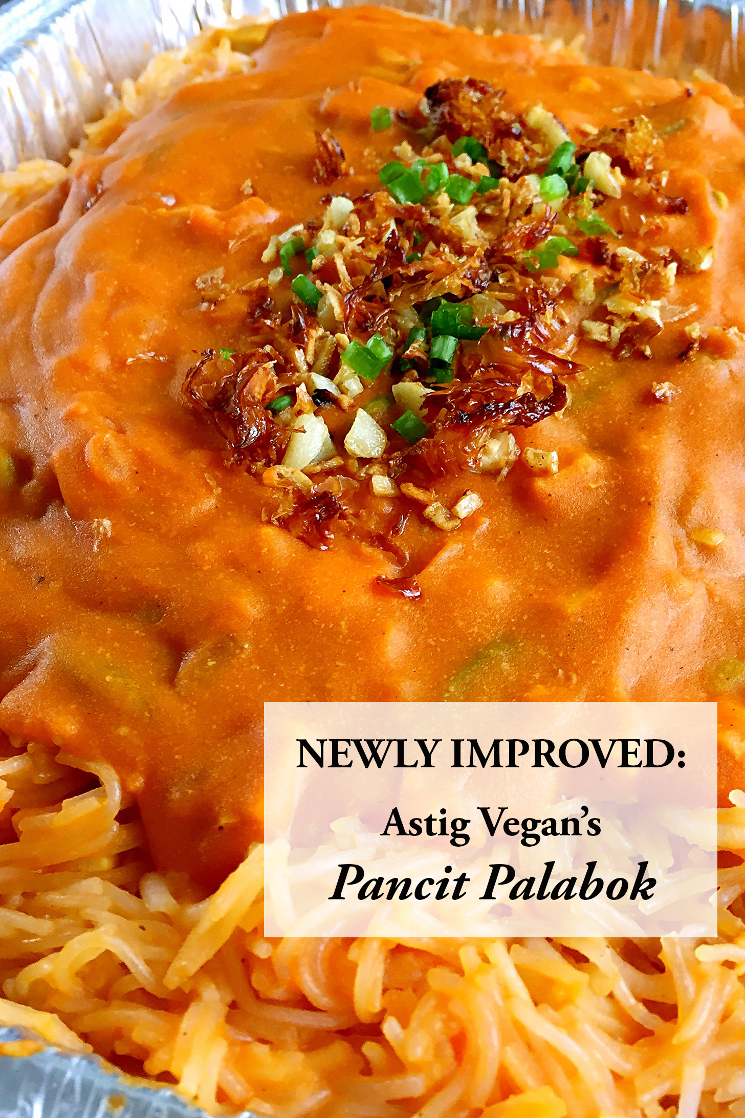 How To Make Vegan Pancit Palabok
